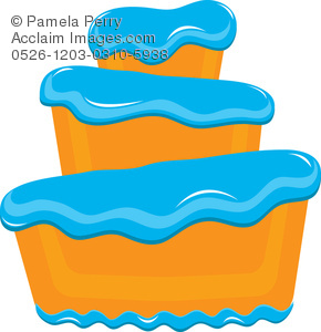 Frosting clipart container Of Art Frosting Blue Art