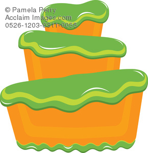Frosting clipart container Of Art Frosting Green Art