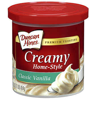 Frosting clipart container Classic Home Vanilla Frosting Creamy