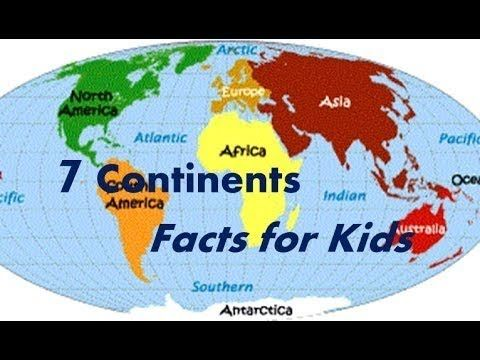 Continent clipart 5 ocean Interesting on about them facts