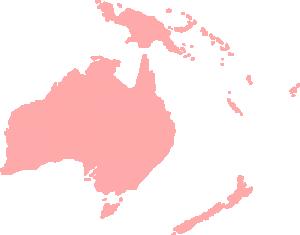 Continent clipart antarctica Oceanian Clip Art Download Continent