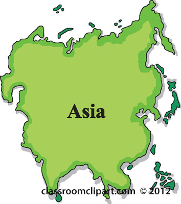 Continent clipart asia Continent clipart Asia Clipart continent