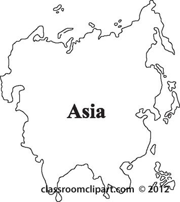 Continent clipart asia Clipart of of asia Continent