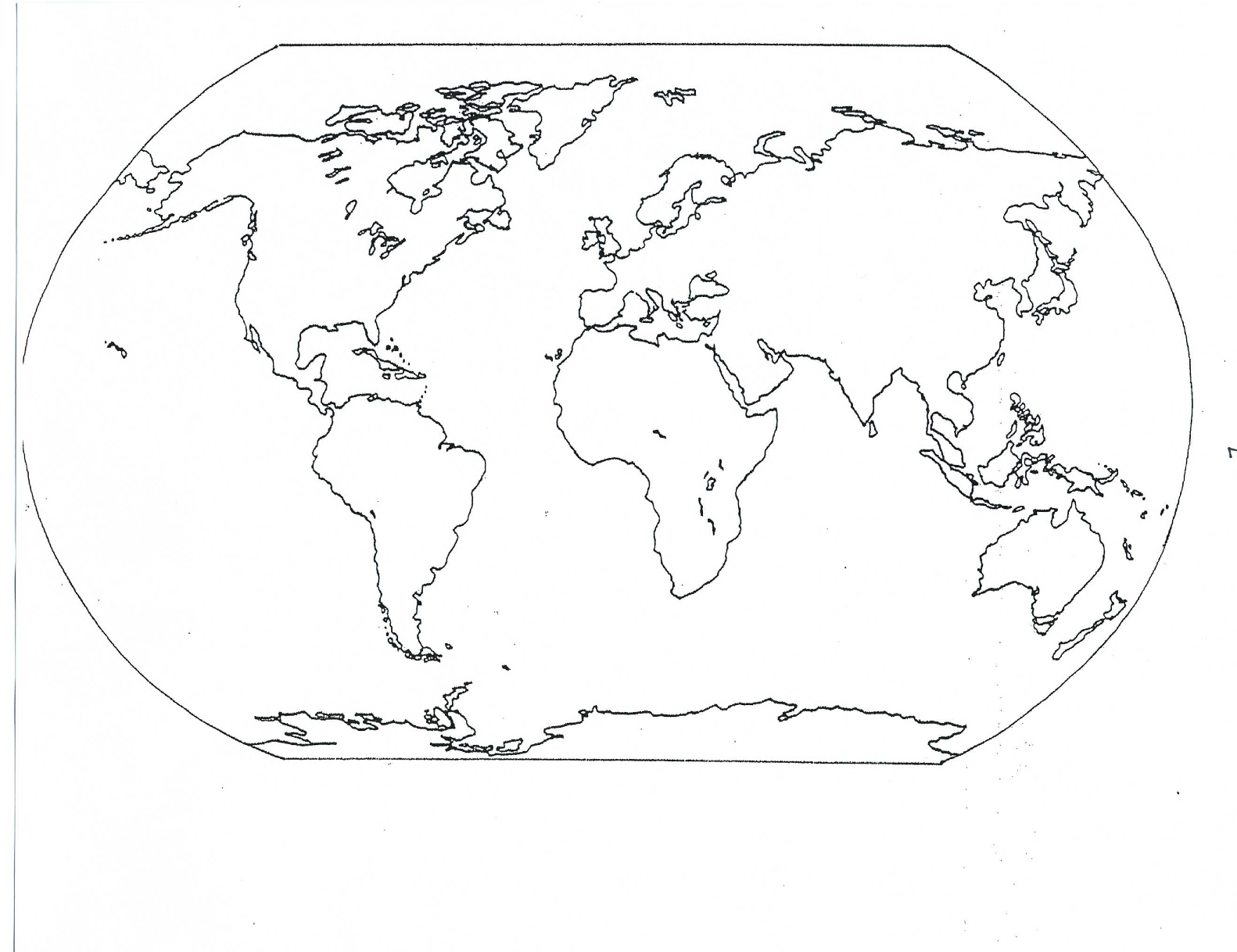 Geography clipart continent Maps and Guerrieros Map Blank