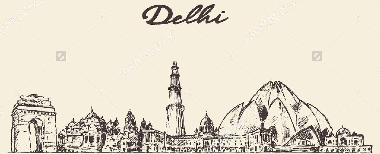 Continent clipart delhi It's treasured and ruins