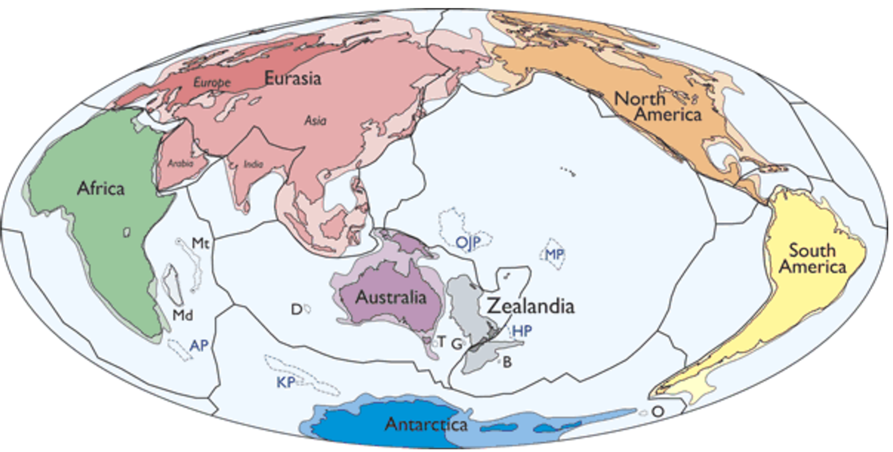 Continent clipart earth map Scientists Inverse World's Zealandia Eighth