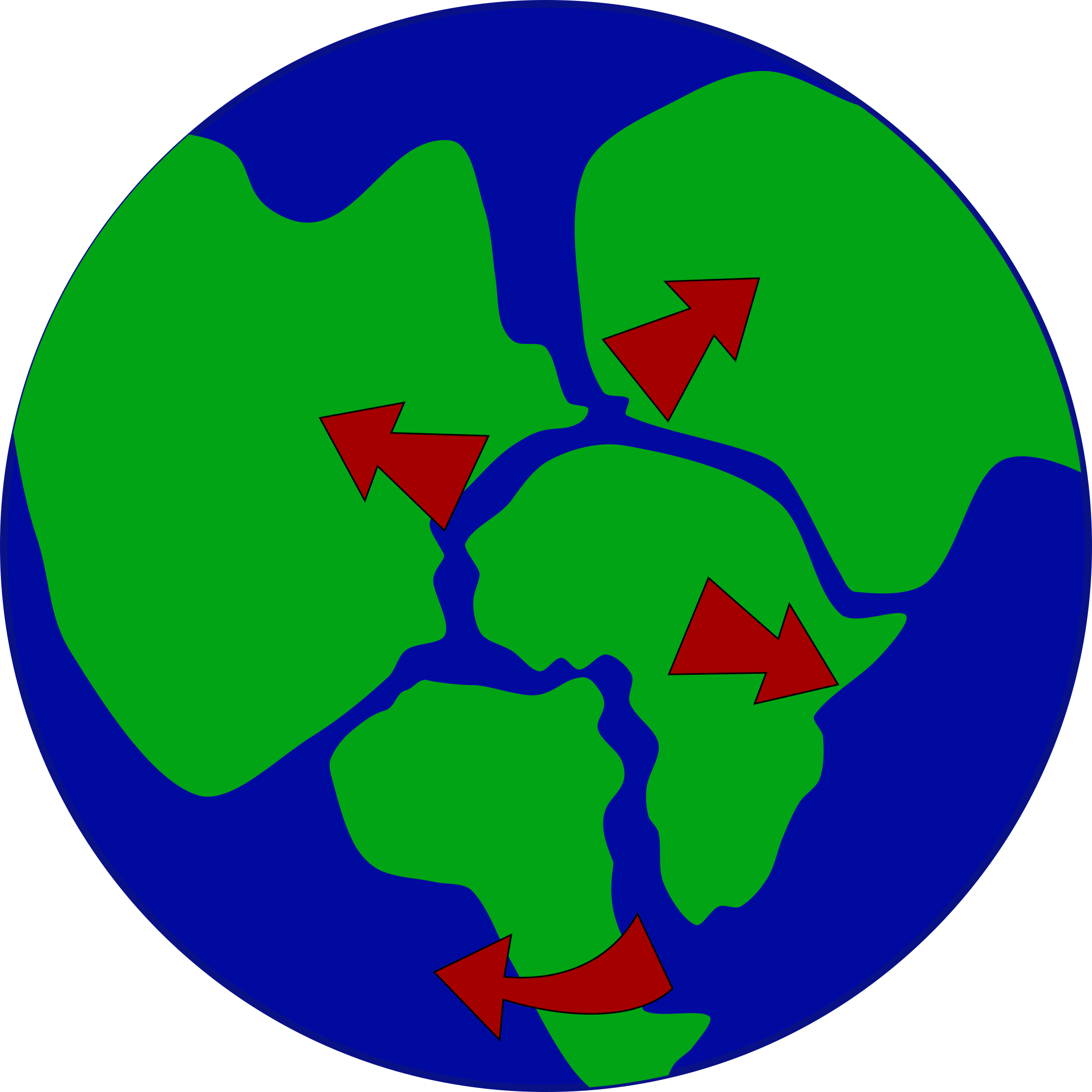 Continent clipart earth's Breaking breaking with continents up