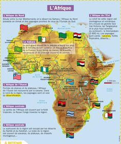 Continent clipart geography class Of L'Afrique • ideas The