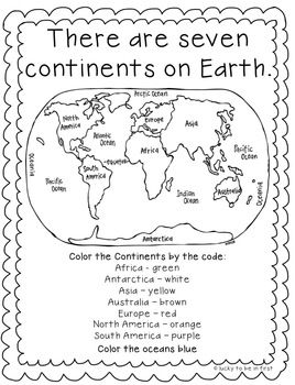 Continent clipart geography class 25+ ideas Continents the Continents