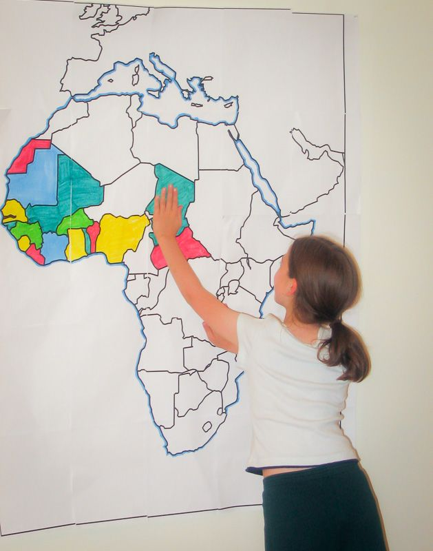 Continent clipart geography class Large Small ideas Free on