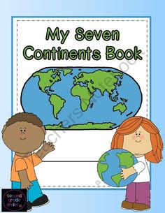 Continent clipart geography class Grade for on My Continents