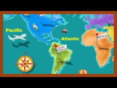Continent clipart geography class And on in Cute used