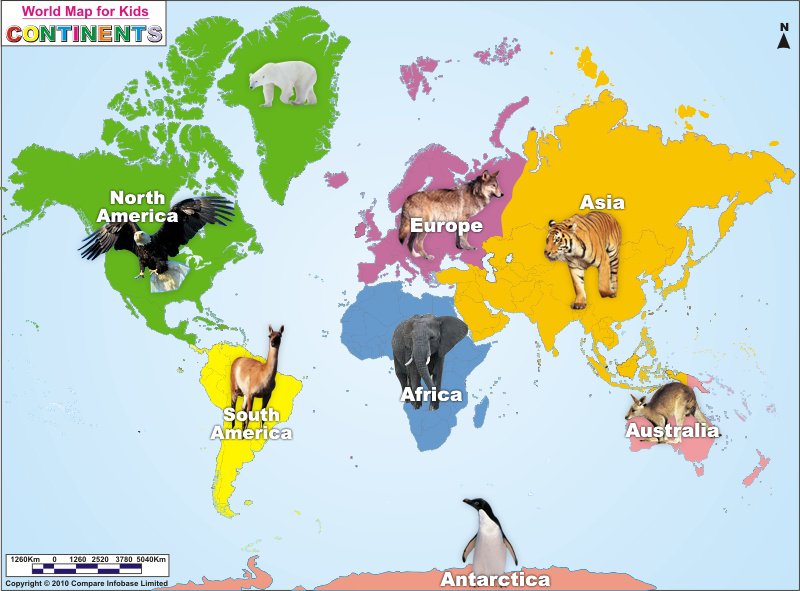 Continent clipart global map CONTINENTS! Find images on Pinterest