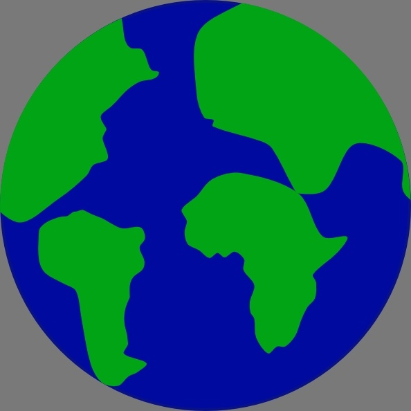 Continent clipart globe Commercial Free for free vector)