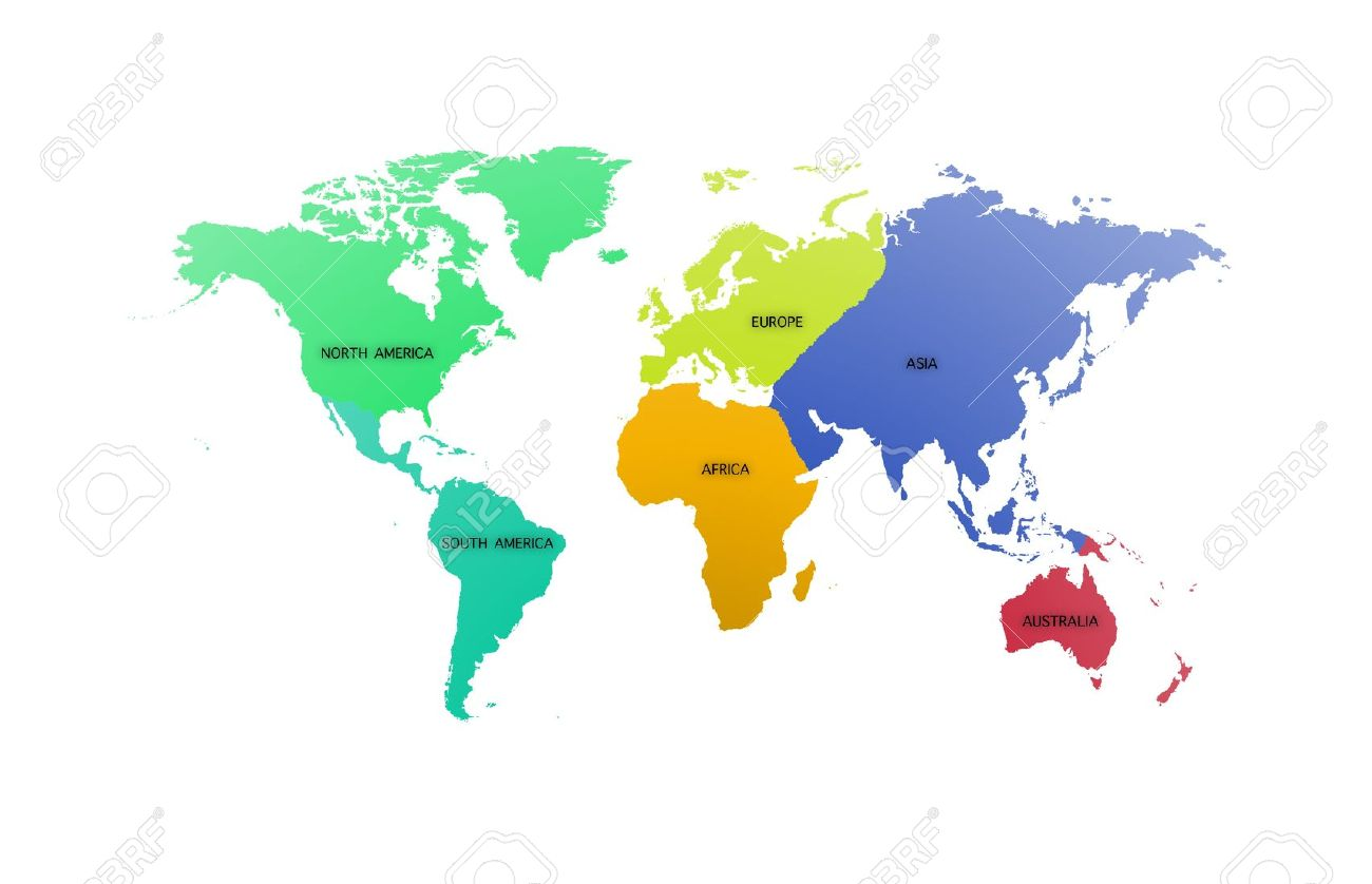 Continent clipart international Illustration Stock The Stock With