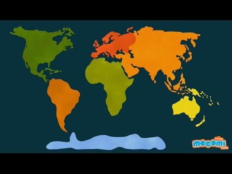 Continent clipart kid For YouTube Geography of 7