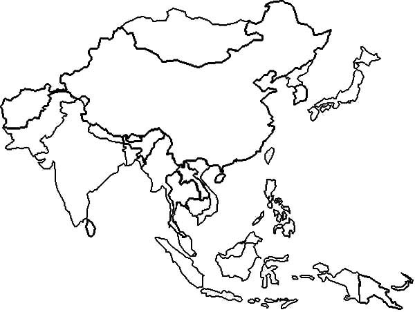Continent clipart kid Map Clipart Kid asia Clipart