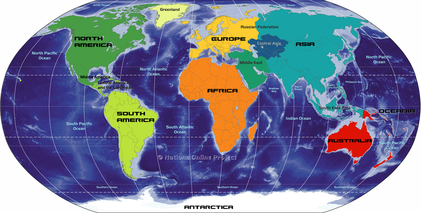 Continent clipart labeled Continents World Map World Topix