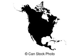 Continent clipart north america America Continents North Stock Artby