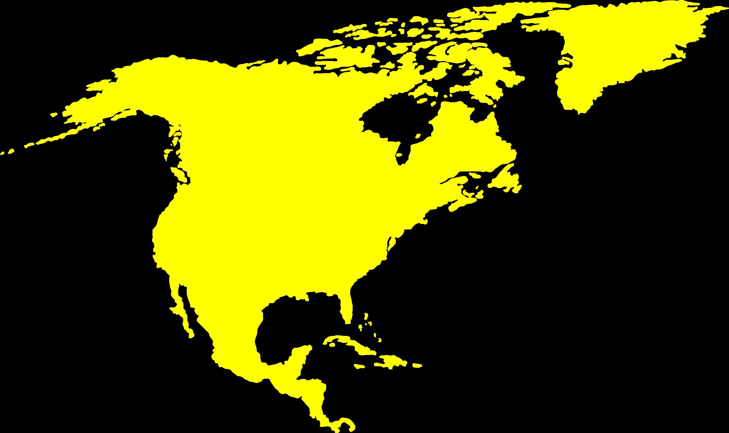 Continent clipart north america Continent American American Clipart North