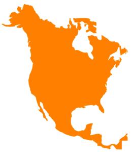 Continent clipart north america America online America North Clip