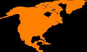 Continent clipart outline Clker Clip Montessori Continent Outline
