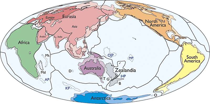 Continent clipart plain Seventh Zealandia Earth's Called Earth