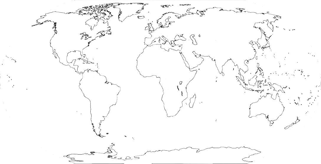 Continent clipart plain Of Continents Photos Plain Blank
