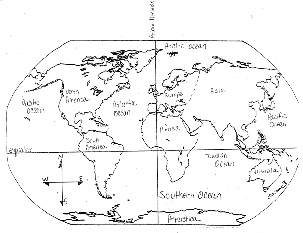 Continent clipart printable In The Continents Filled And