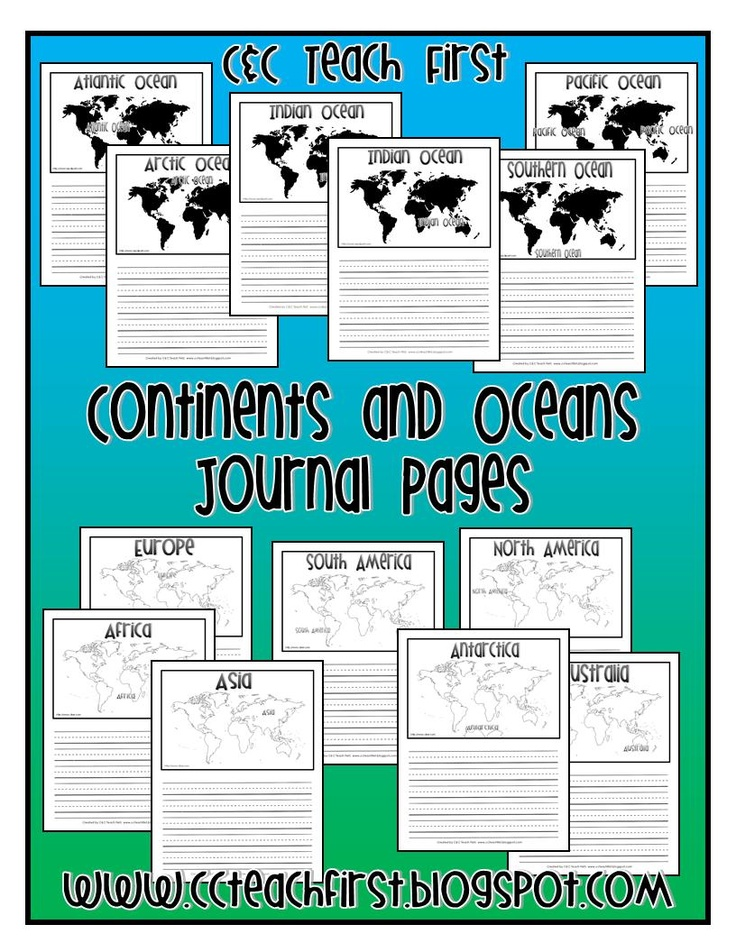 Continent clipart social studies teacher This oceans and Teaching Find