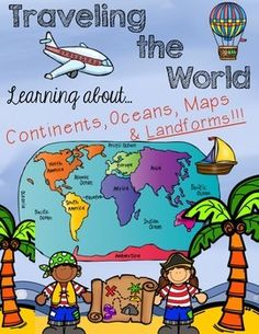 Continent clipart social studies teacher The Continents for lots Traveling