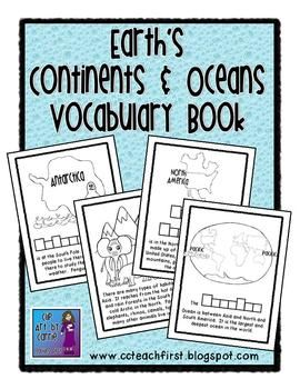 Continent clipart social studies teacher And Continents images Vocabulary Book