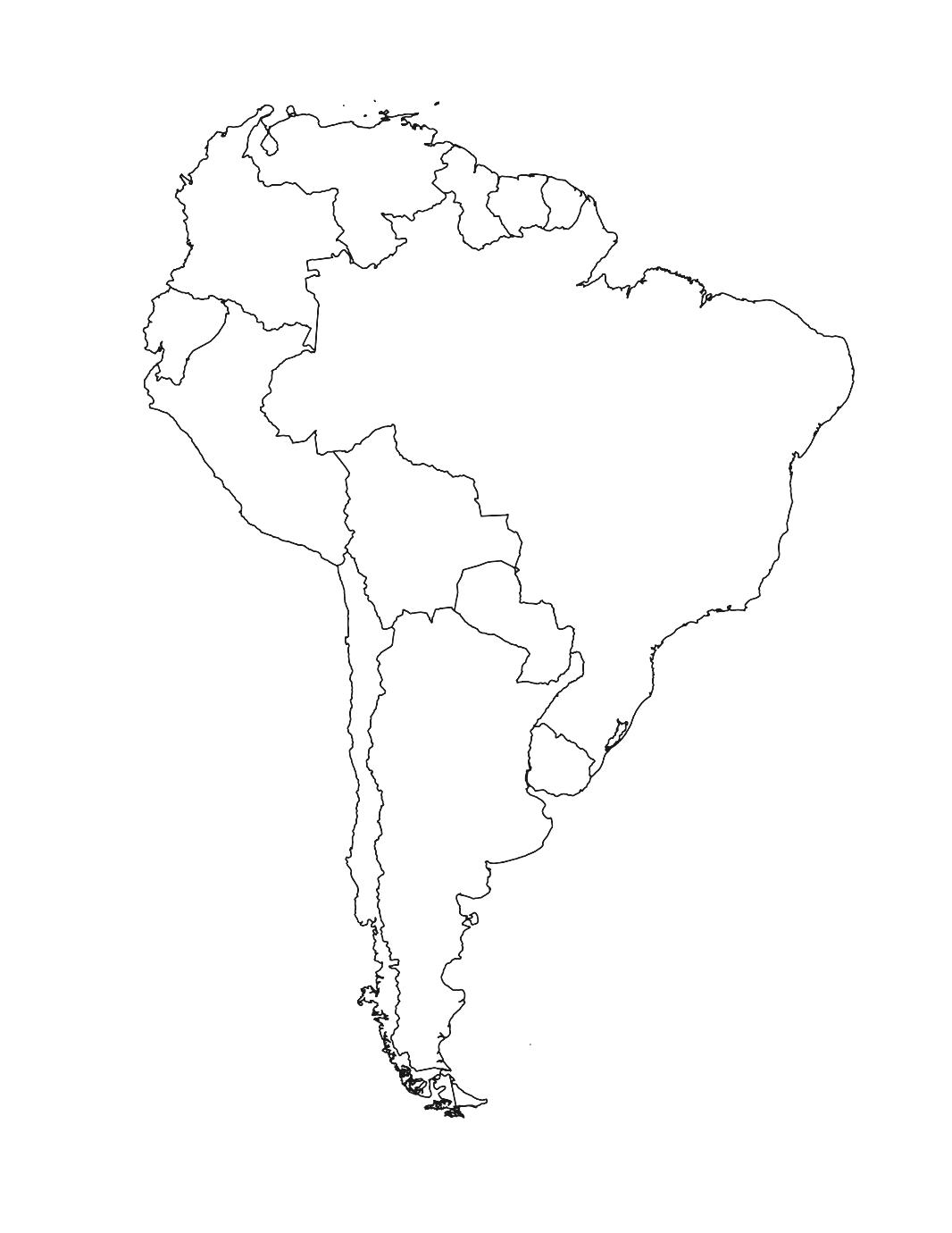 Continent clipart south america Download Base Of South And