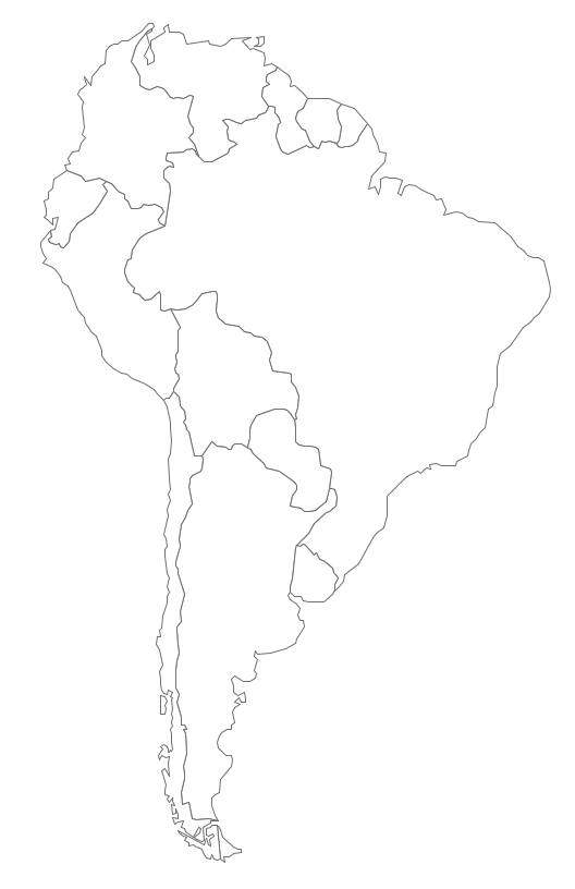 Continent clipart south america Draw Map Geo South America