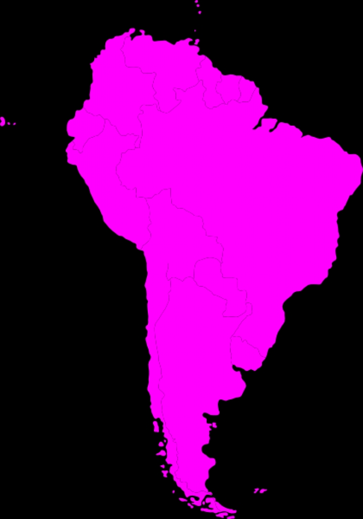Continent clipart south america Montessori Clip Art South Continent