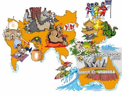 Continent clipart sydney And Comics Cartoons cartoon Sydney