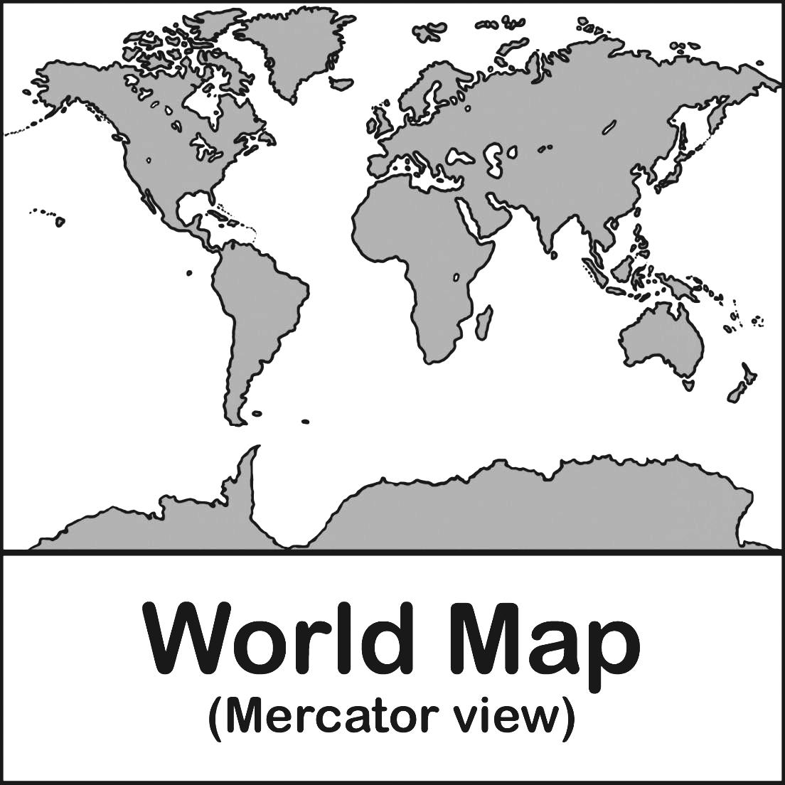 Continent clipart world history White Art Black And