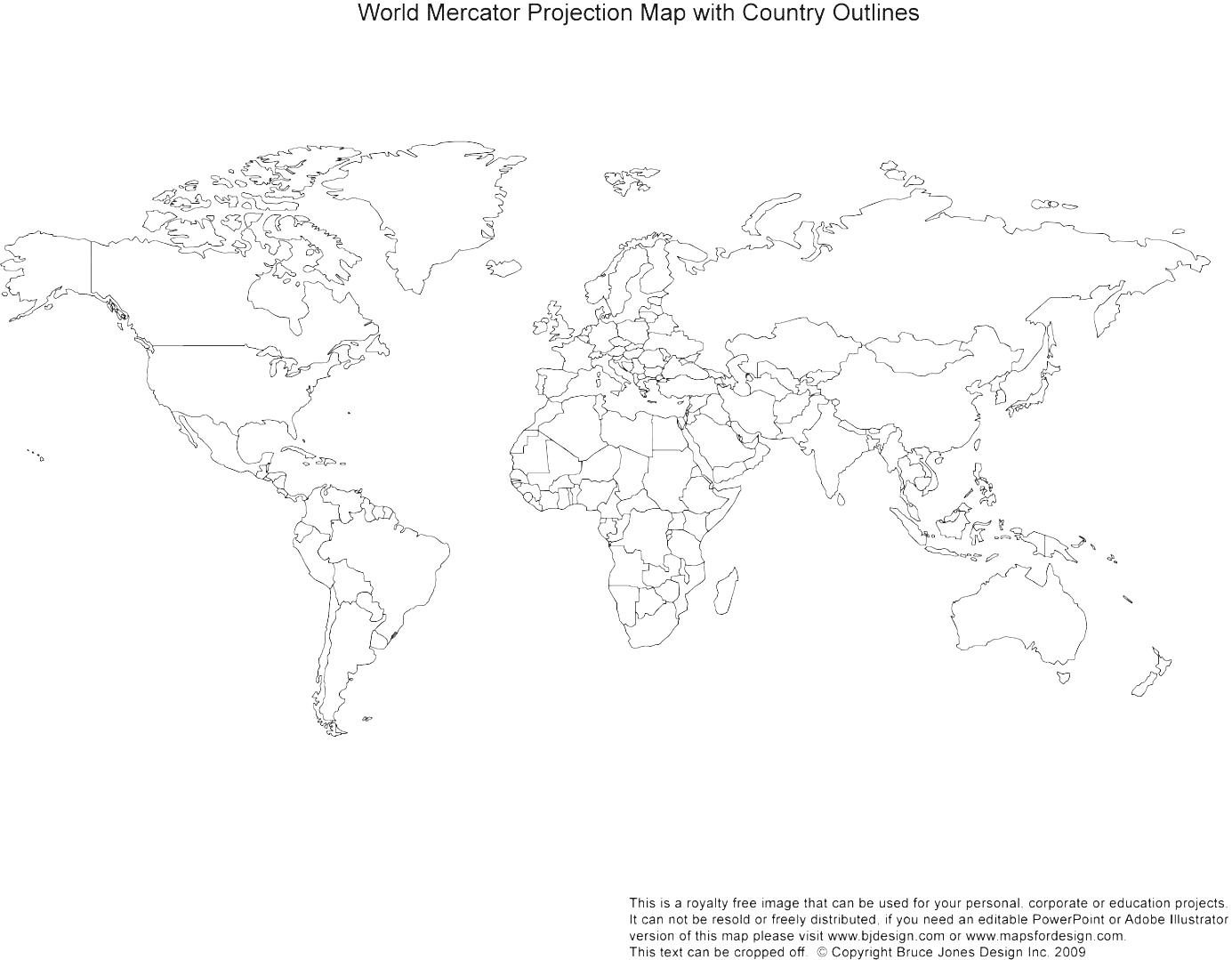 Continent clipart world political Maps Asia  Free Printable