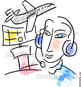 Controller clipart air traffic controller Air Vector Control Controller Traffic