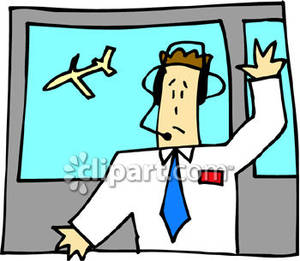 Controller clipart air traffic controller Royalty Air Clipart Picture Work