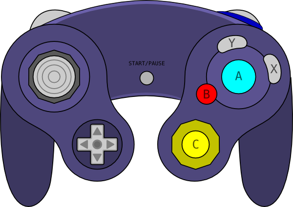 Controller clipart gamepad Online clip at image Clker