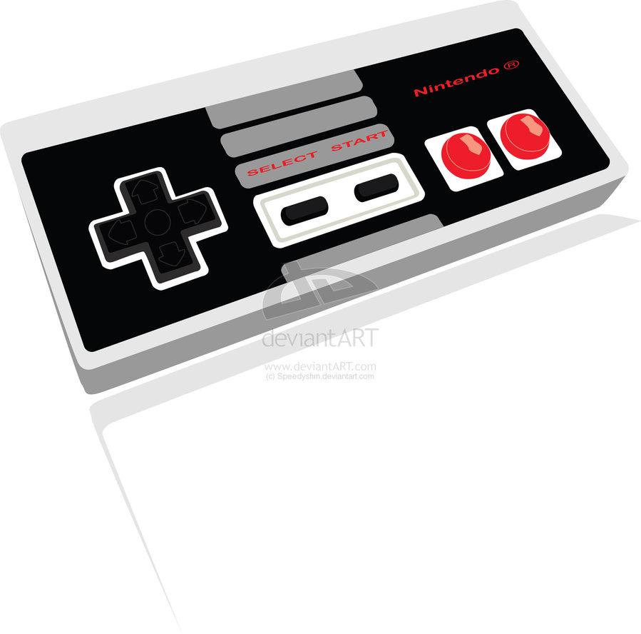 Controller clipart nintendo controller Art speedyshm Nintendo Nintendo Controller