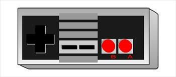 Controller clipart nintendo controller  350x154 Nintendo Resolution Clipart