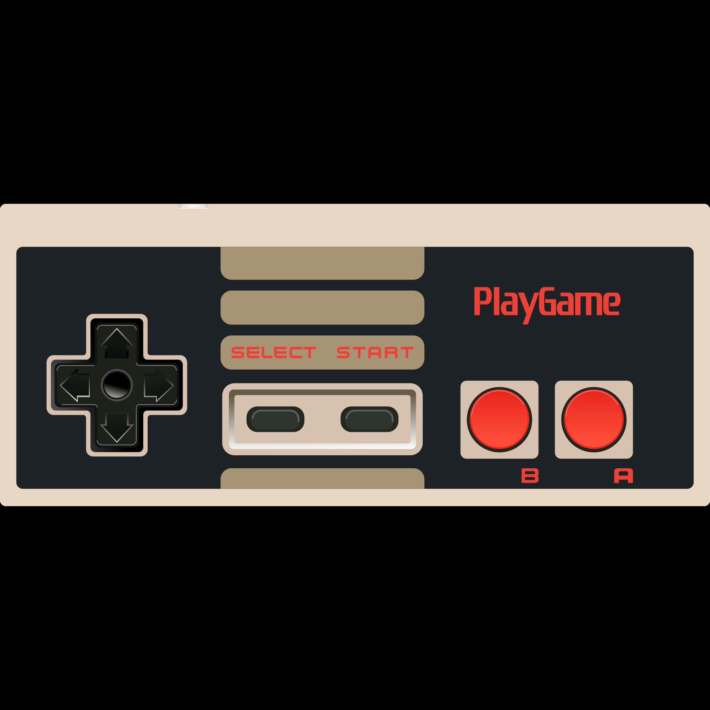 Controller clipart nintendo controller Controller NES Video Game Video