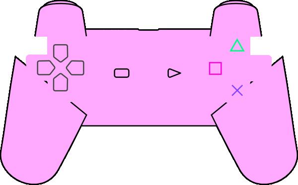 Controller clipart pink Art Art Clker clip at