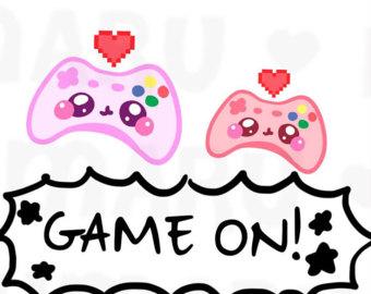 Controller clipart pink Condren Game Etsy (ECLP) Game