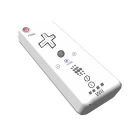 Controller clipart wii controller Edges 256x256 pixels Icon Wii