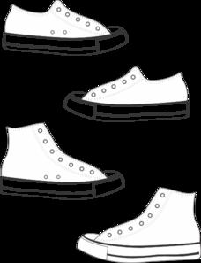 Converse clipart Converse Clipart cliparts Tennis Shoe