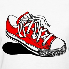 Converse clipart  Clipart Red Converse