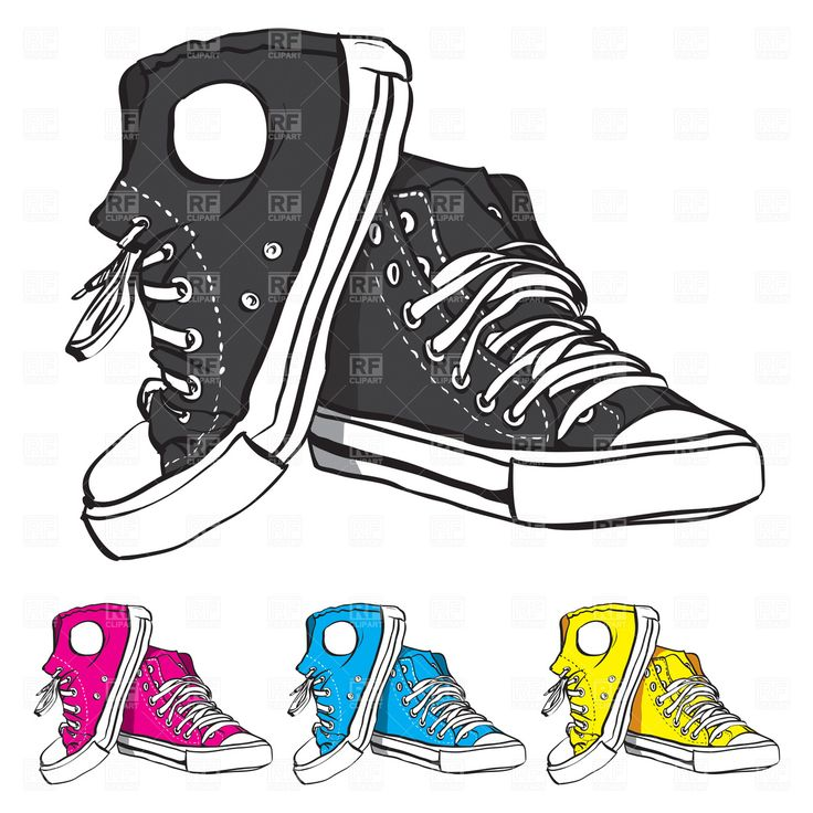 Shoe clipart solid object #10